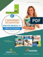 Caderno Prova_Brasil_Ciências_Humanas