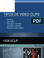 Tipos de Video Clips