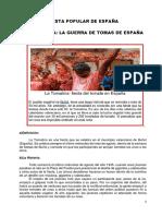 La Tomatina La Guerra de Tomas de España