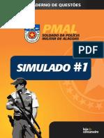 #Simulado 1 - PM-AL - Soldado (2017) - Loja Do Concurseiro