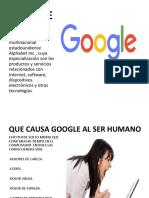 Trabajo Tecnologia de Google
