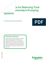 Three Steps for Reducing Total Cost of Ownership in Pumping Systems