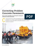 Correcting Problem Concrete Pavements Better Roads 05-03