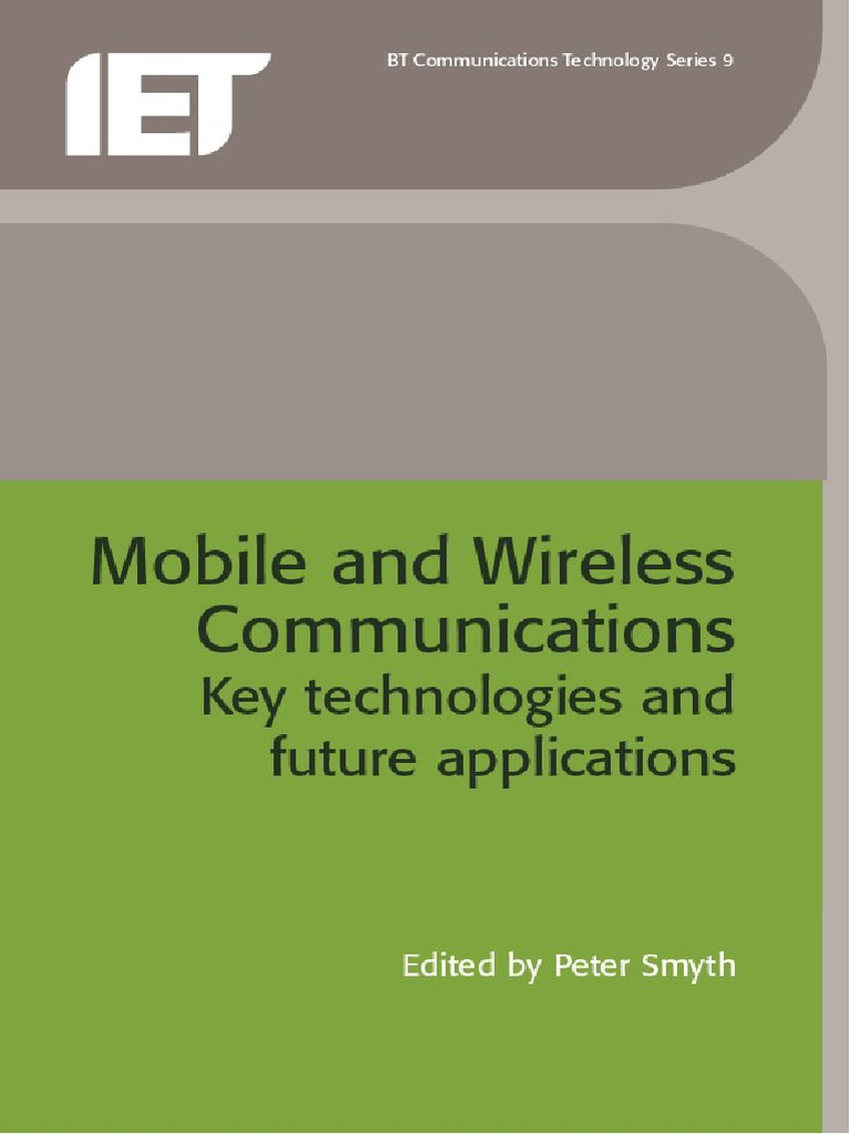 Mobile and Wireless Communications | 3 G | Wireless Lan