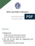 Pointer- SEEA and SDGs Indicators