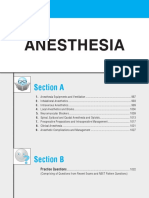 Anaesthesia MDMS question
