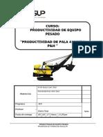 Productividad de Pala Frontal de Gran Minería 4100 Xl p&h