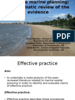 Fletcher, Steve - LITTORAL 2010 - A Review of Effective Practice in Marine Planning