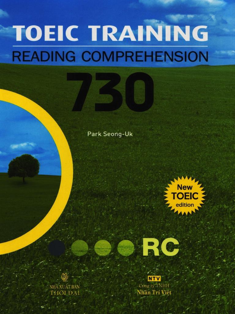 Toeic Training Reading Comprehension 730 Pdf
