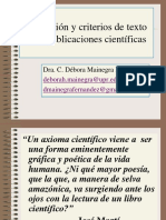 Redacción de publicaciones científicas