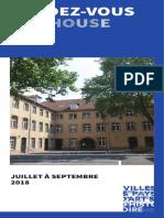 Programme Patrimoine Été 2018