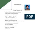 CV Tavano Máximo Terminado