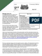 Senator Krueger's Community Bulletin - July 2018