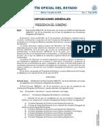 Real Decreto 694-2018