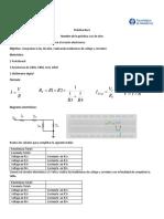 Práctica No.4 Modulo 1 Ley de Ohm
