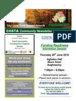 COSTA Newsletter - June 2018