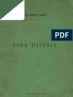 Bart(Olomeo) Cecchetti - Bibliografia Della Principesa Elena Ghika, Dora d'Istria ((1868))