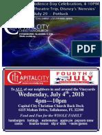 July 2018 Newsletter