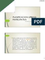 Planificacion Urbana Participativa