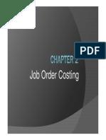 02 Job Order Costing
