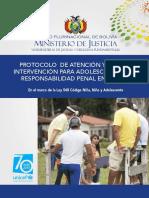 Min Justicia - Unicef - Protocolo y Ruta Critica Atencion ACL