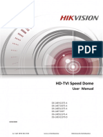Tvi Ptz User Manual Ds 2ae4223ti a Ds 2ae7230ti a Ds 2ae5123ti a Hikvision 2016 2017