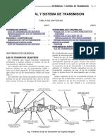 Diferencial y Sistema de Transmision