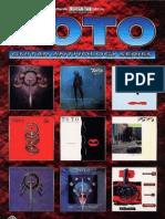 Toto - Guitar Anthology Series ISBN0769206263 Guitar