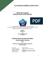 RPP Multimedia I1 (Sesuai Permen 22 Tahun 2016)