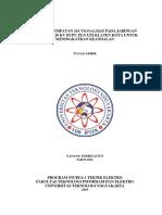 cover STUDI PENEMPATAN SECTIONALIZER PADA JARINGAN DISTRIBUSI 20 KV.docx