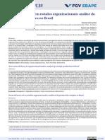 LACRUZ Teoria Ator-rede Em Estudos Organizacionais Análise Da Produção No Brasil