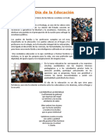 01 de Abril_ Día de La Educación