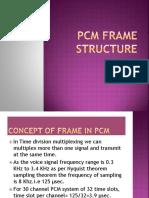 Pcm Frame Structure