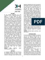 ARTÍCULO CIENTÍFICO. MARKETING DIGITAL Y POSICIONAMIENTO DE MARCA