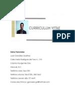 Juan Gonzalez Godinez (Curriculum)