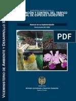 Estrategia Nacional Para La Prevencion y Control Del Tráfico Ilegal de Especies Silvestres