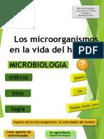 Los Microorganismos en La Vida Del Hombre
