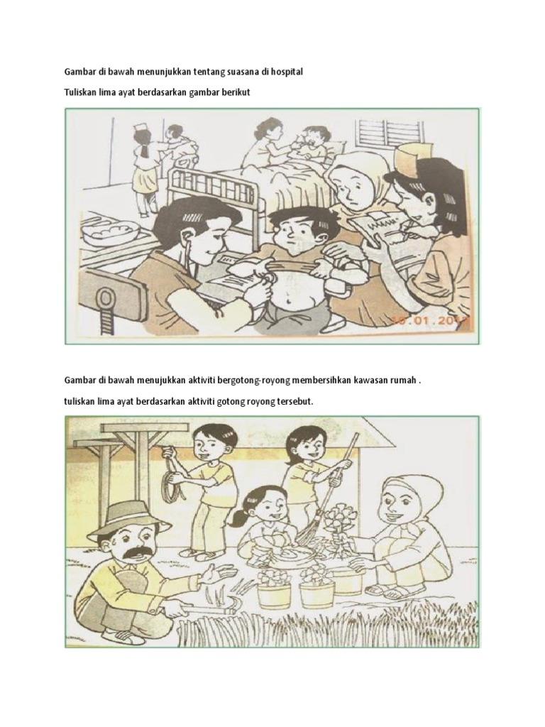 Gambar Di Bawah Menunjukkan Tentang Suasana Di Hospital
