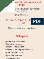 TOLERANCIAS_2018 UNIVERSIDAD TECNOLOGICA DEL PERU