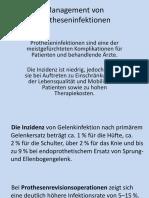 Management Von Protheseninfektionen