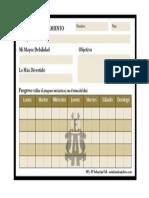 Plan Entrenamiento Ajedrez