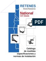 Retenes National Catalogo