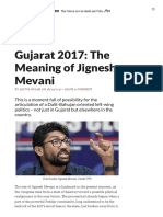 The Meaning of Jignesh Mevani - The Wire