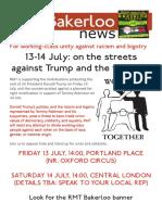 13-14 July Demos