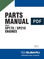 Subaru Engines Sp170 Sp210 Parts
