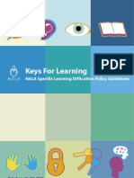 Keys for Learning - Summary Document