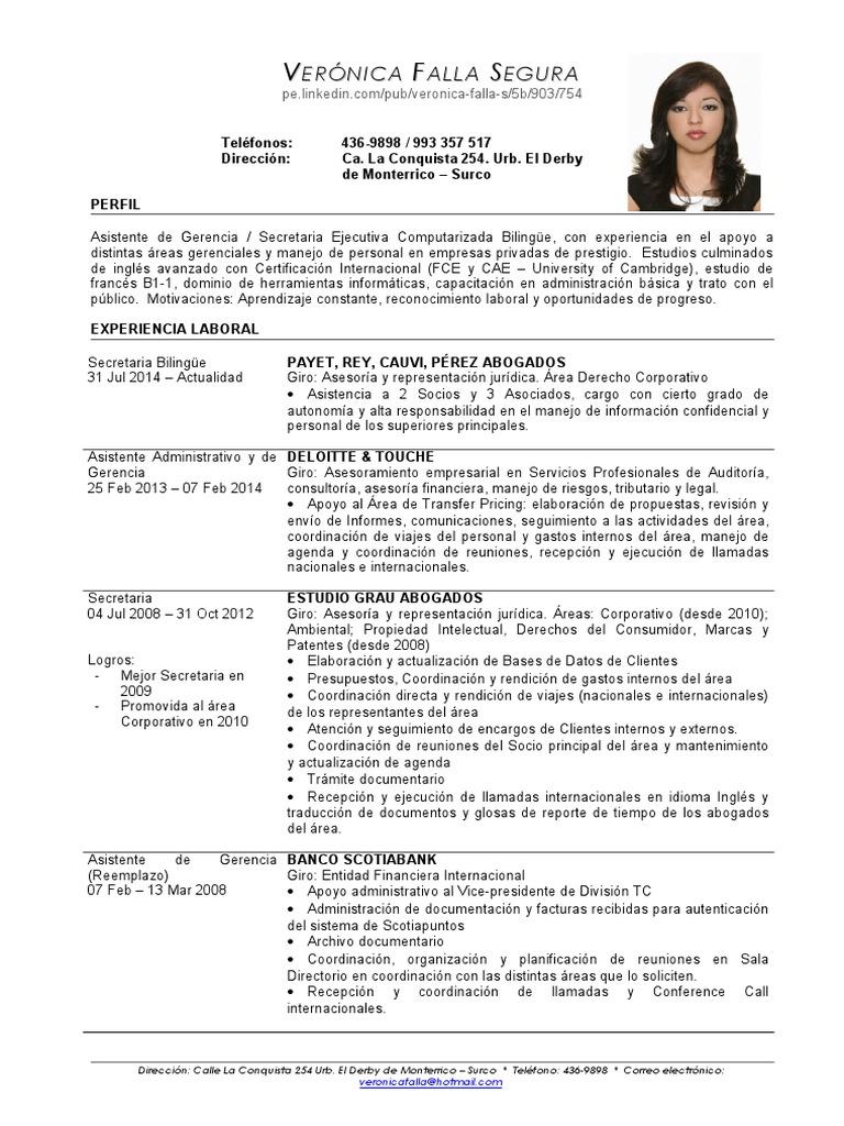 Único Asistente Principal Plantillas De Currículum Motivo ...