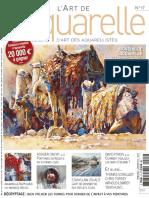 L'Art de l'Aquarelle - Juin-Juillet-Aout 2013