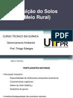 10.2 Poluicao Dos Solos - Meio Rural -Defensivos