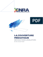 CNRA Rapport Couverture Legislatives Juillet 2017